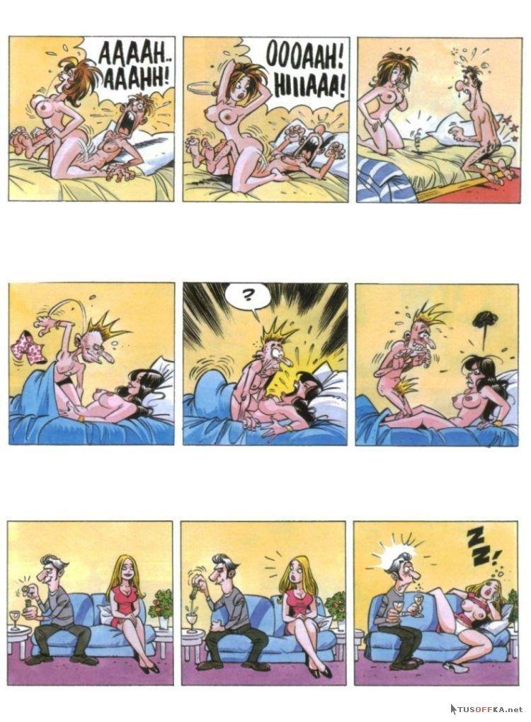 Секс комиксы смешные