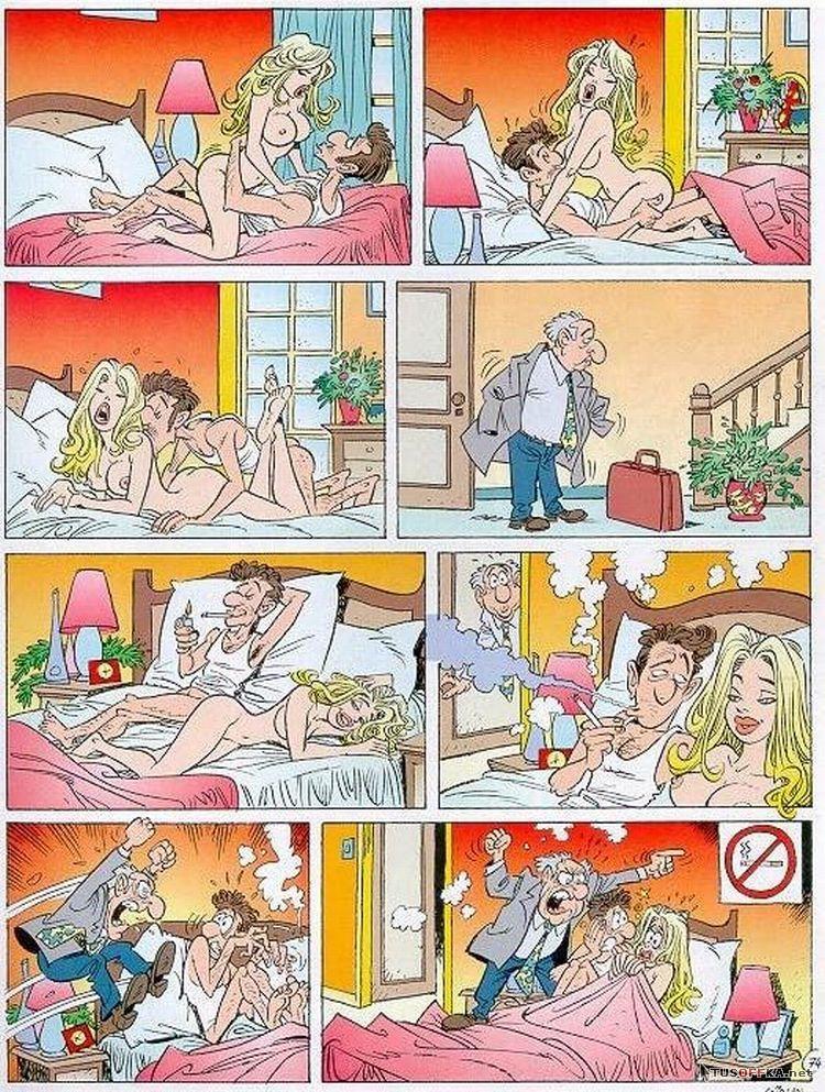 Секс смешные комиксы