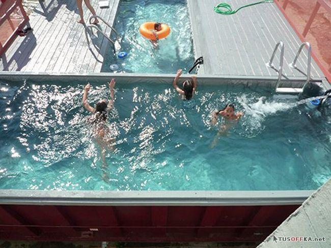 Как сделать недорогой бассейн своими руками