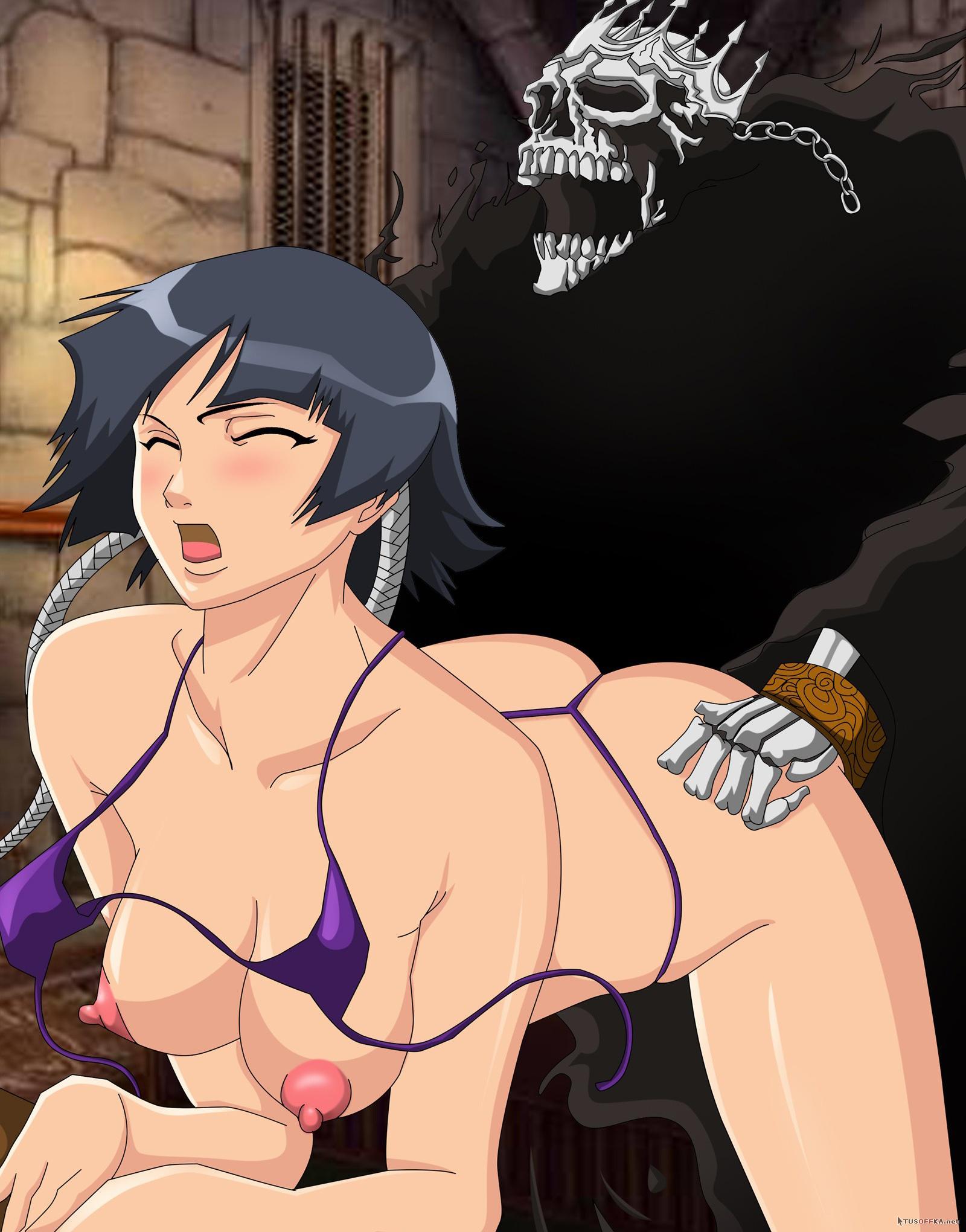 Секс с хентай онлаин